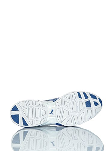 Puma surgo nf sl bianco -azzurro White Nautical Blue