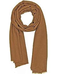 Made dans Kashmir  Cachemire Ressentir Écharpes Hiver 18-19 La laine Soie  Mélange Épais Foulards Aux femmes Pour… badac724e5d