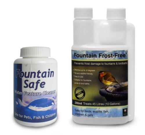 Doppelpack: Brunnenreiniger und Frostschutz