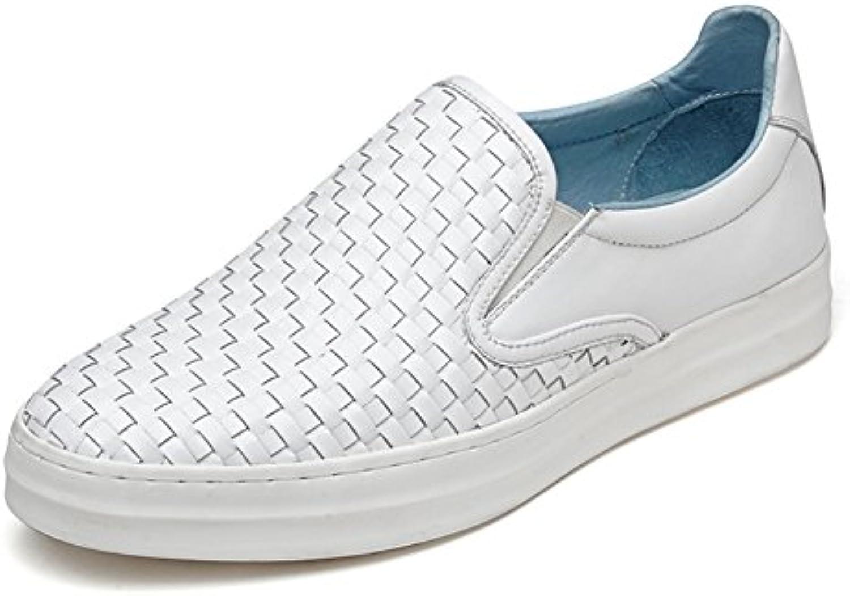 Beiläufige Schuhe der Männer/Woven Fuß Schuhe setzt