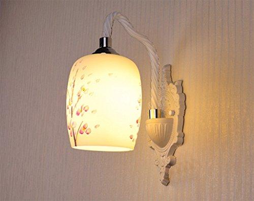 Continental Verre LED Applique Salon Chambre Lampe de chevet restaurant étude Salle à manger Entrée Aisle Balcon Escalier