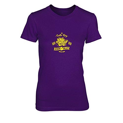 Turtle King Demon Valley - Damen T-Shirt, Größe: XL, Farbe: ()