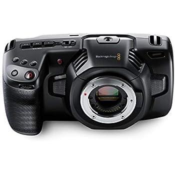 Blackmagic Design Pocket Cinema Camera 4K - Videocámara (Micro Cuatro Tercios, Tarjeta de Memoria, CFast 2.0,SD, Raw, Automático/Manual, 12,7 cm (5