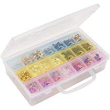 Kurtzy Pastillero Semanal Dispensador (7 Días) - Plástico Organizador de Pastillas con caso -