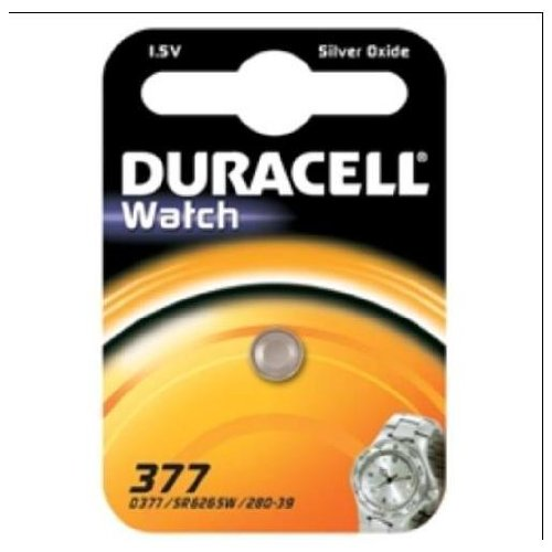 Duracell dur936830 Silver-Oxide 1.5 V Non-Rechargeable Battery - Non-Rechargeable Batteries (Silver-Oxide, Button/Coin, 1,5 V, 1 pc (s))