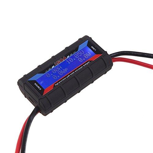 SODIAL(R) FT08 RC 150A Wattmetre de Haute Precision et Analyseur de Puissance w /LCD Retro-eclairage (150A Wattmetre, Analyseur de Puissance RC, RC Wattmetre)