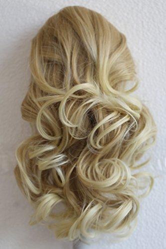 PRETTYSHOP 40cm Haarteil Zopf Pferdeschwanz Haarverdichtung Haarverlängerung VOLUMINÖS 40cm blonde mix #27T613 PH208
