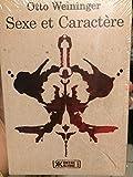 Sexe et Caractère