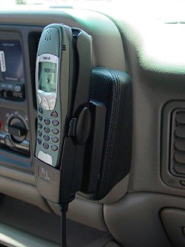 KUDA 050071 Halterung Echtleder Light beige (0555) für Chevrolet Avalanche/Suburban/Silverado/Tahoe (GMT820) / GMC Sierra/Yukon XL (USA) (Kuda Usa)