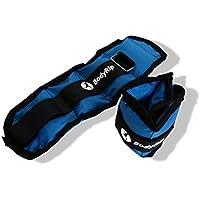 BodyRip Body Rip Wrist/Ankle Weights Sand Bags-Black, 23 x 13 cm/2 x 2 kg