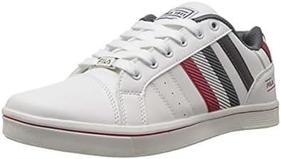 Fila Men's White and Dark Grey  Sneakers (11000678) -6 UK/India (40 EU)