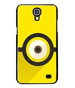 Fuson Designer Back Case Cover for Samsung Galaxy Mega 2 SM-G750H (Bull's Eye Target Lines Plain)