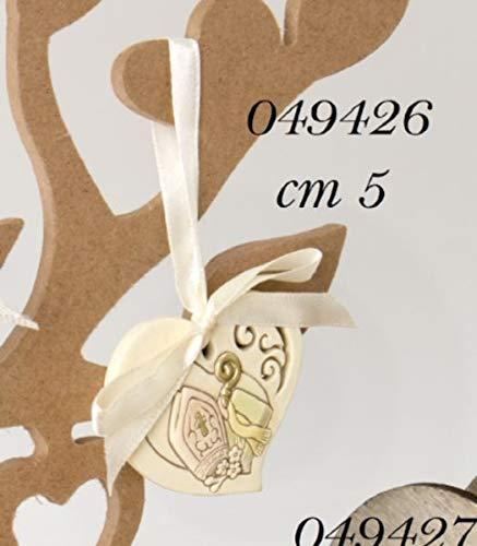12 pezzi ciondolo dolce icona con simbolo vescovo bomboniera cresima