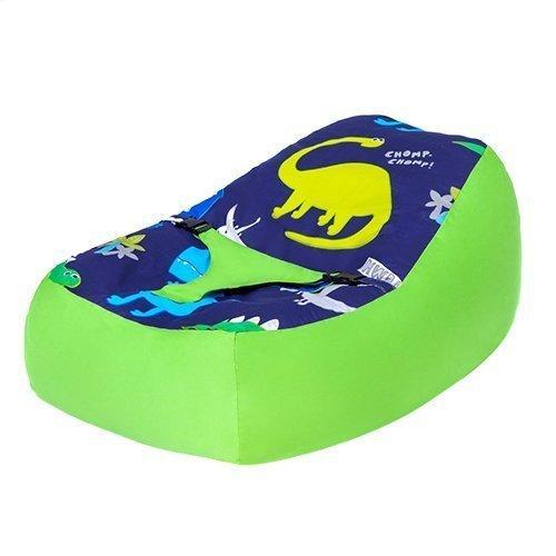 Ready Steady Bett Dinosaurier in The Dark Design Baby Sitzsack, mit verstellbarem Sicherheitsgeschirr