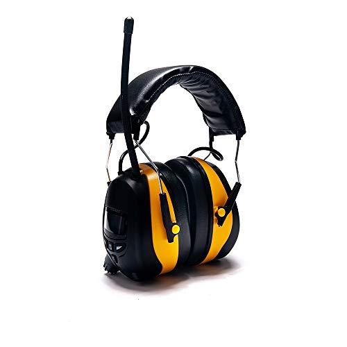 Chlyuan Ohrenschützer zur Geräuschreduzierung Schallschutz, Schalldämmung, Geräuschreduzierung, Ohrenschützer, Ruhe, Bücher lesen, Externe Audio-Kopfhörer, Tragen für Gehörschutz, BAU, Gartenarbeit