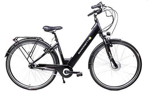 SAXONETTE Fahrrad E-Bike E-Fahrrad E-Citybike Elektrofahrrad Pedelec Cityrad City Stadtrad 28 Zoll Damenfahrrad Damen Bike