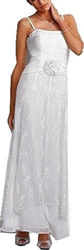 Robe de Soirée de Heine - Couleur Blanc Blanc