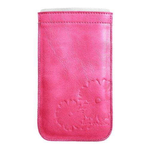 Schlitz-pocket-hose (Golla Slim Phone Pocket - LEA - Pink G1391 Case für Apple iPhone 5)