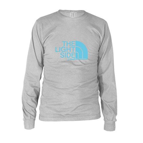 Maul Darth Ideen Kostüm (The Light Side - Herren Langarm T-Shirt, Größe: L, Farbe:)