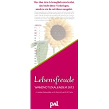 PAL Lebensfreude Notizkalender 2012