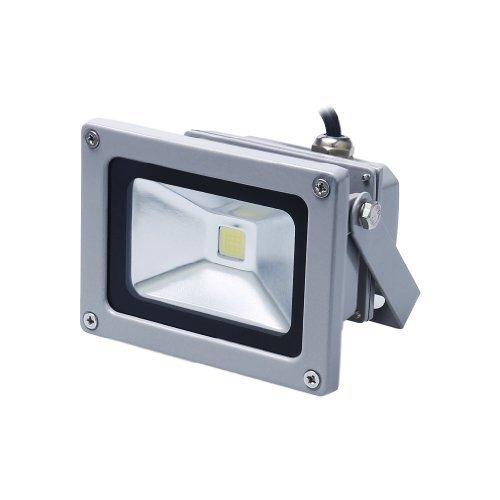 Auralum 10W Foco LED Proyector de Luz Lámpara IP65 Impermeable Iluminación Exterior Bajo Consumo de Energía y Alto Brillo Blanco