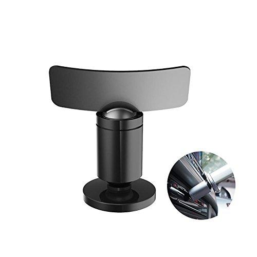 LayOPO Auto-Magnet Handy Halterung für Auto CD-Schlitz Halterung, 360° Drehbar Aluminium Legierung Automarke Handy Ständer Halter für iPhone Samsung und Mehr -