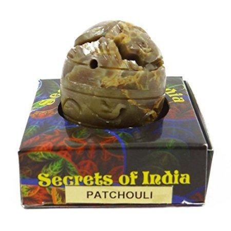 Natürlicher Patschuli-fester Parfüm-Körper-Moschus im Steinglas 8 Gms