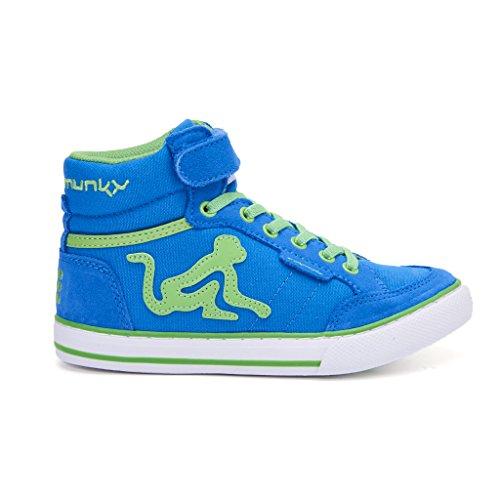 DrunknMunky Boston Vitaminix, Chaussures de Tennis garçon Verde