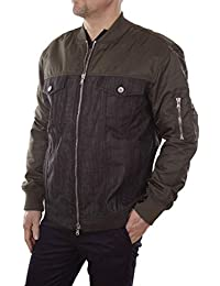 Diesel Black Gold Jaren Outerwear Caban College Giacca Uomo a796134043e