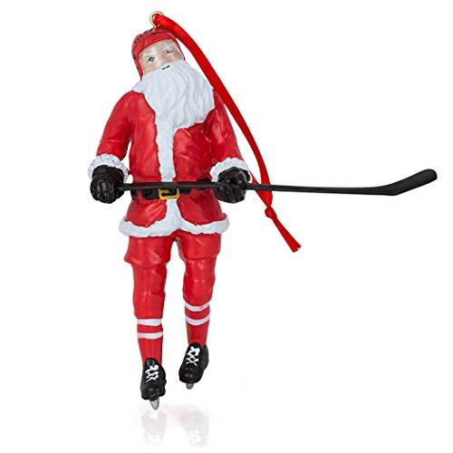 ChalkTalkSPORTS Santa Hockey Player Weihnachten Ornament   Jungs Hockey Holiday Ornament (Anzüge Santa Für Verkauf)