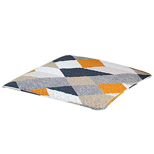 STRUGGGE Sofabezüge Twill Muster orange Möbelschutz Bezüge, maschinenwaschbar, Slip Cover Überwurf für Haustiere, Kinder, Baumwolle, 45×45cm -