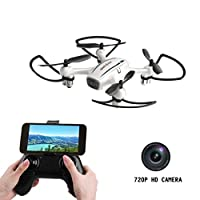 Drone with Camera,Cellstar Wifi FPV Drone 720P HD Camera RC Quadcopter Nano Drone With Altitude Hold and 3D Flips Android APP Remote Control Helicopter for Beginners from Cellstar Eup Coltd