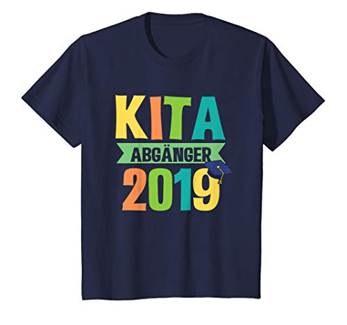Kinder KITA Abgänger 2019 Schulanfänger Erstklässler Shirt Schule -