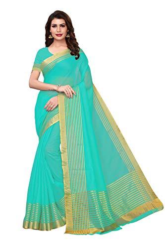 GoSriKi silk with blouse piece Saree (SEE-VASU_ Multicoloured_ FS)
