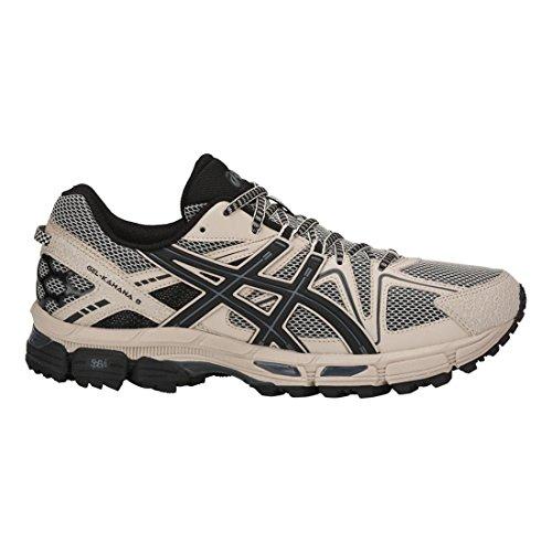 Asics Gel-Kahana 8 Synthétique Chaussure de Course Feather Grey/Black/Carbon