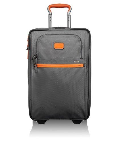 Tumi Maleta, International, 56 mm, gris – Grey/Orange, 022020GO2_Grey/Orange_56