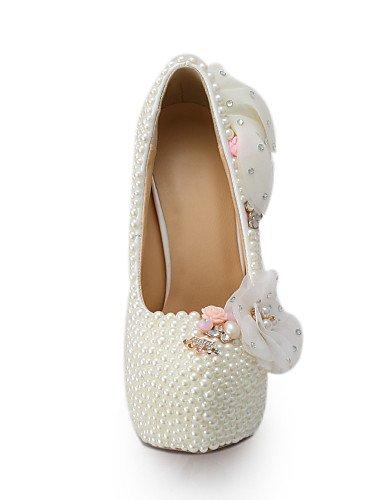 WSS 2016 Chaussures de mariage-Beige-Mariage / Habillé / Soirée & Evénement-Talons-Talons-Homme 5in & over-us7.5 / eu38 / uk5.5 / cn38