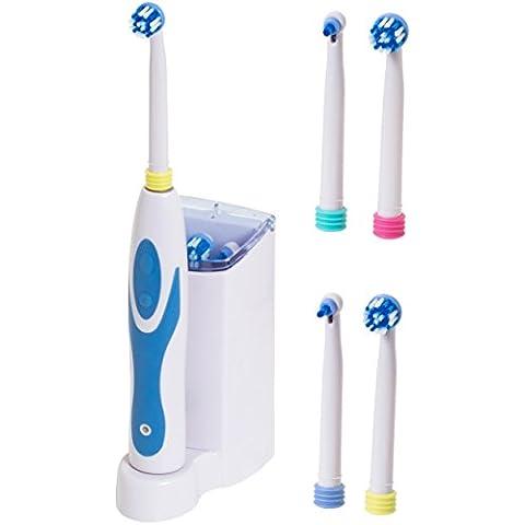 BRUBAKER spazzolino da denti elettrico - SB 1000 dotato di