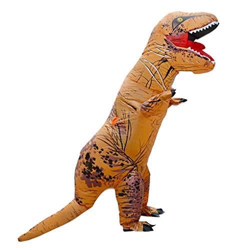 LOLANTA Erwachsene Kinderaufblasbares Dinosaurier Kostüm Halloween Fun Run Party Kostüme (T-Rex, - Trex Kinder Kostüm