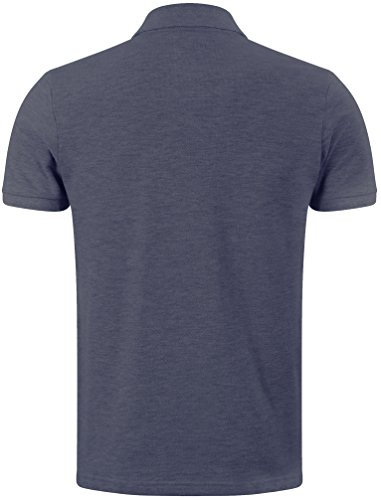 Tokyo Laundry Herren Rochester Baumwollknopf Up Classic zufälliges Polo Hemd Top Größe S- XXL Mood Indigo