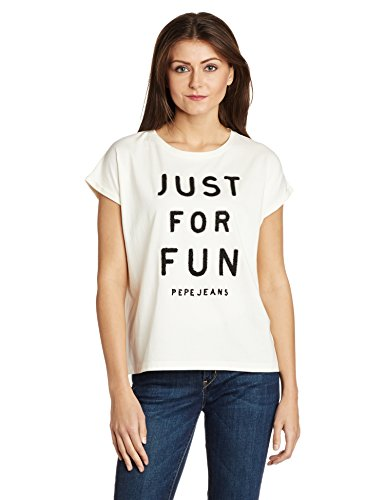 Pepe Jeans Women's Solid T-shirt