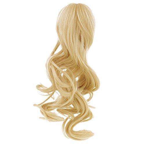 MagiDeal Puppe Perücke Haarperücke für 1/4 BJD Dollfie Puppe DIY Zubehör - # I, wie ()