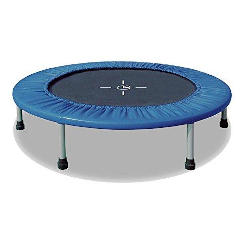 Garlando fit & balance, trampolino indoor, m (Ø 122 cm), nero/blu