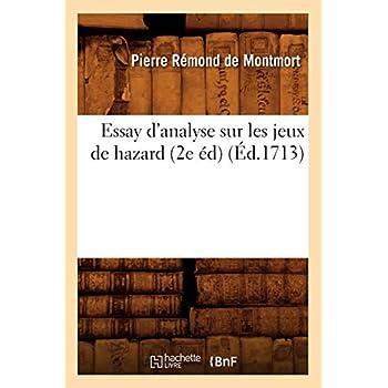 Essay d'analyse sur les jeux de hazard (2e éd) (Éd.1713)