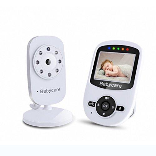 HBF 2.4 LCD Baby Monitor Babyphone Wireless Video Digital mit nachtsicht kamera temperaturfühler und große reichweite Digitalkamera Temperatursensor Schlaflieder