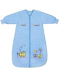 Slumbersac Winter Baby Sleeping Bag Long Sleeves 3.5 Tog - Choo Choo Train, 0-6 months/70cm