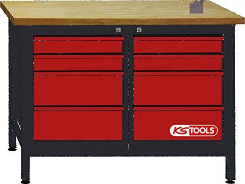 Preisvergleich Produktbild KS Tools 8650007 Werkbank mit 8 Schubladen