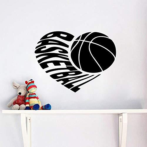 wandaufkleber dekoration zubehör dekor wohnzimmer schlafzimmer abnehmbare kunstwand schwarz l 43 cm x 32 cm ()