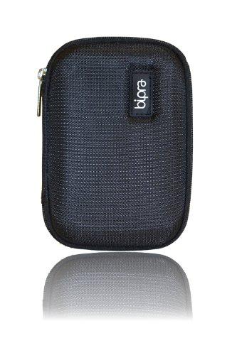 Bipra Schutztasche für externde Festplatten (für 6,4cm / 2,5Zoll, aus Eva-Schaum) schwarz Black (Drive Hard Secure Portable)