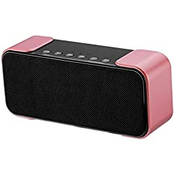FantaisieZ Haut-Parleur Bluetooth sans Fil Waterproof Portatif, Enceinte Bluetooth Haut-parleurs sans Fil Bluetooth 4.2 Subwoofer Portable Super Bass Stereo